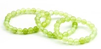 Immagine di China Jade Kugeln 6mm Kinder Armband-Set (je 3x 12.6, 13.8 & 15.0cm), Immagine 1